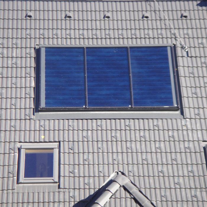 Ausschnitt Solarpaneel