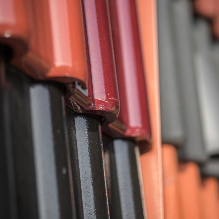Bunte Dachziegel von Klammler, dem Dachdeckermeister aus der Oststeiermark
