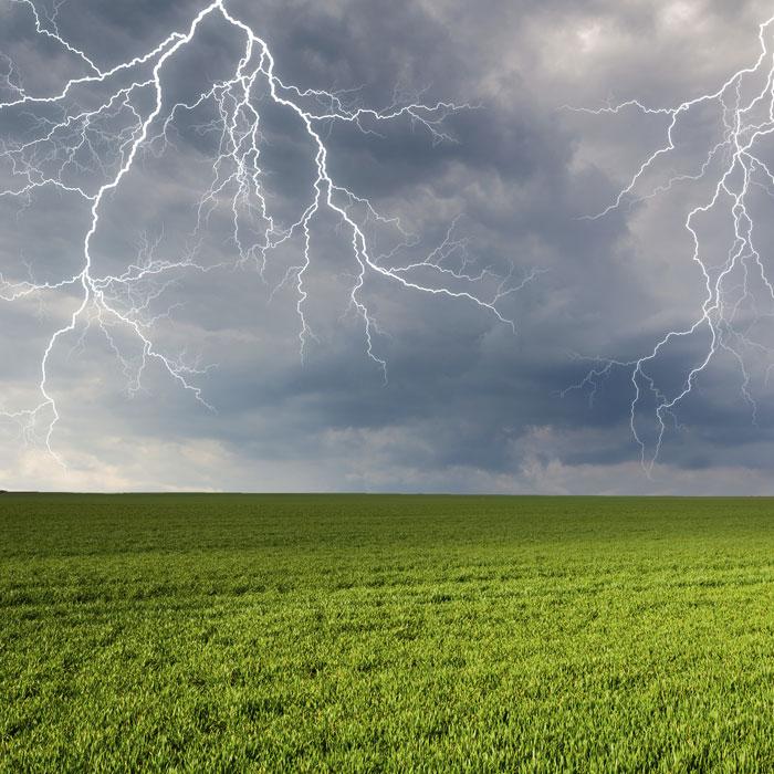 Blitzschutz von Klammler