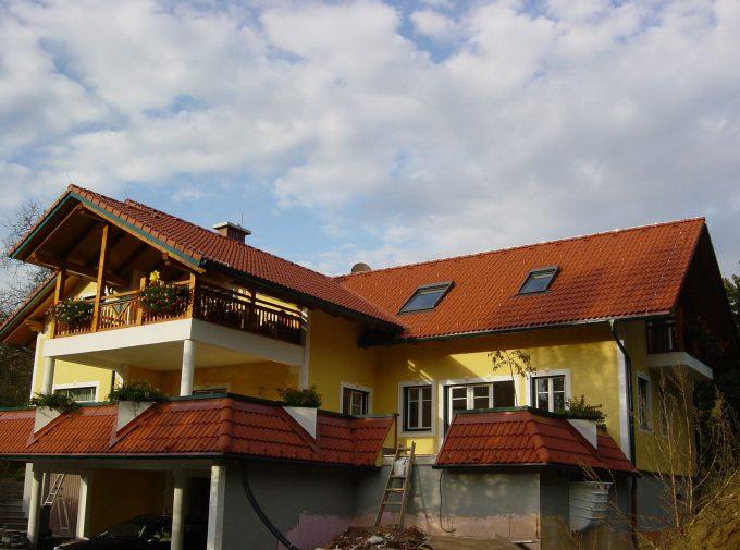 Dachgestaltung in der Steiermark