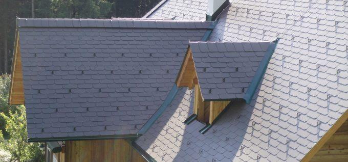 Eternit-Dachplatten von der Dachdeckerei Klammler