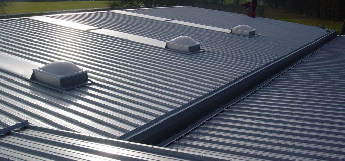 Metall-Dach für Industrie