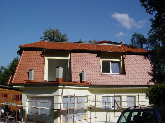 Gesamtansicht Dach
