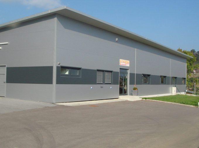 Flachdach für Industriegebäude
