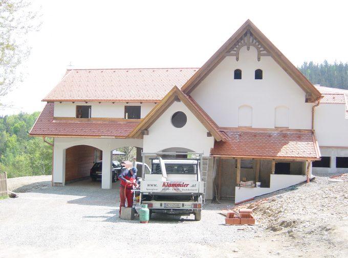 Spengler und Dachdeckerarbeiten
