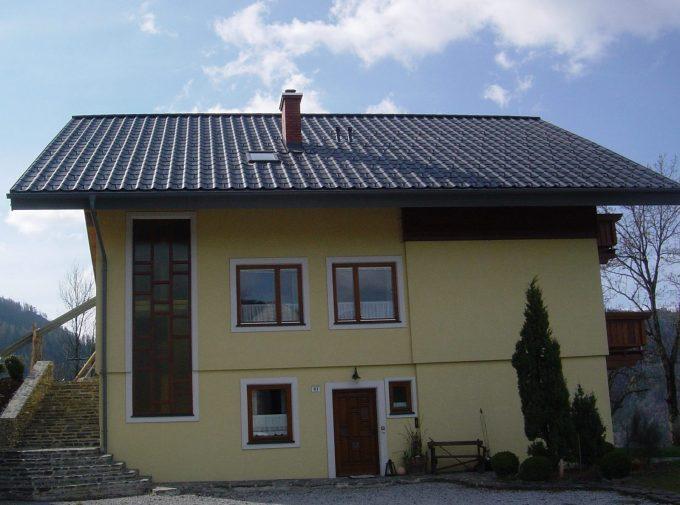 Dach für Familienhaus