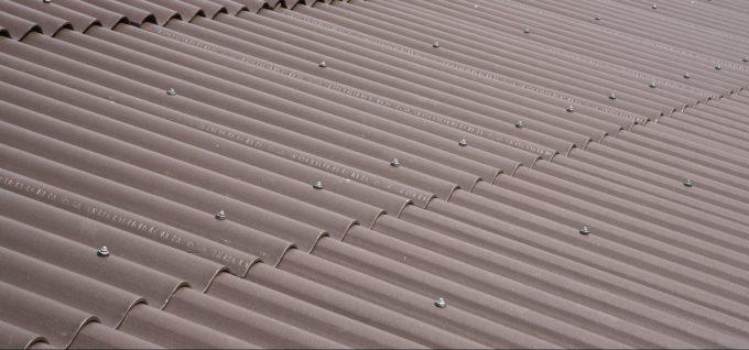 Wellplatten-Dach von Klammler