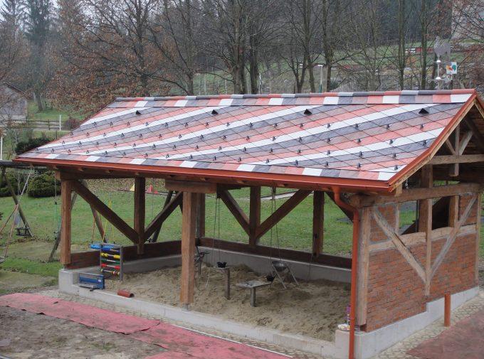 Dach für Sandkasten Spielplatz