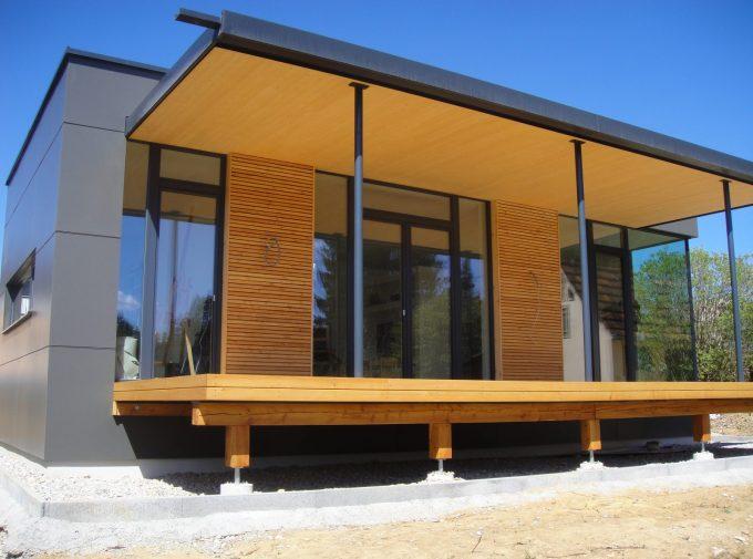 Modernes Dach für Neubau