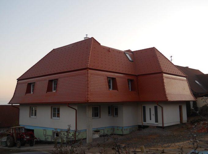 Dach für Neubau