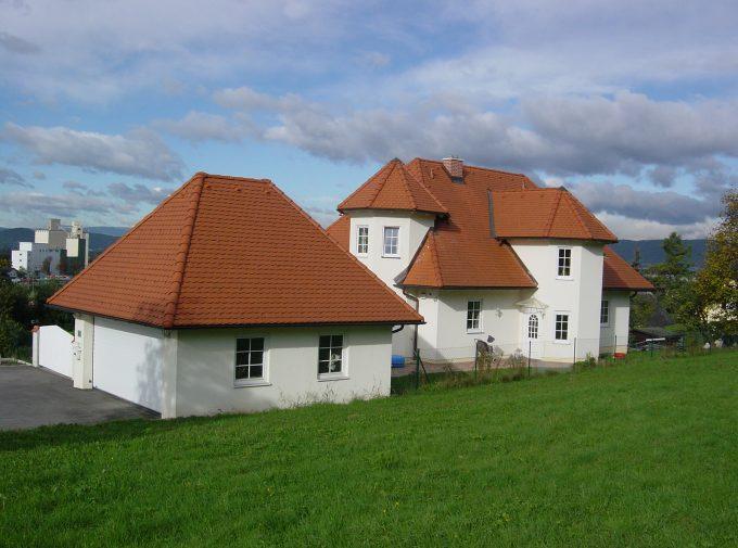 Neues Dach für Ansitz