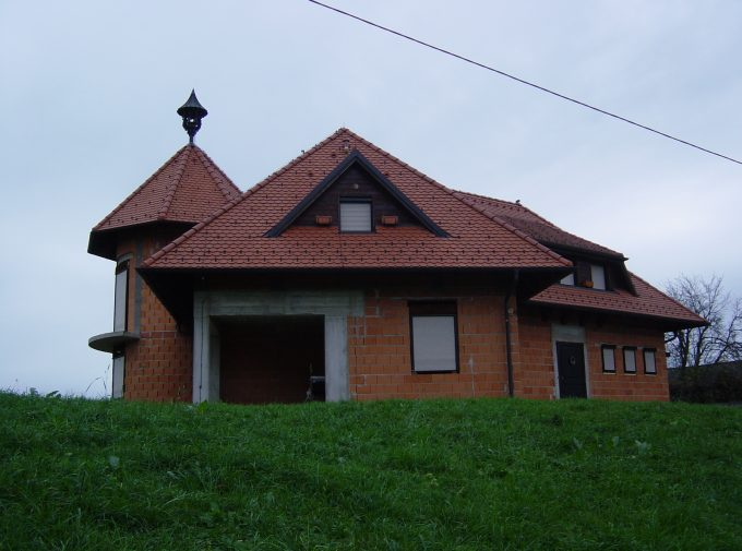 Klassisches Ziegel-Dach