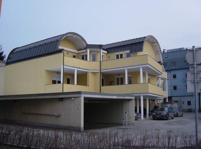 Gewölbtes Dach vom Dachdeckermeister Klammler