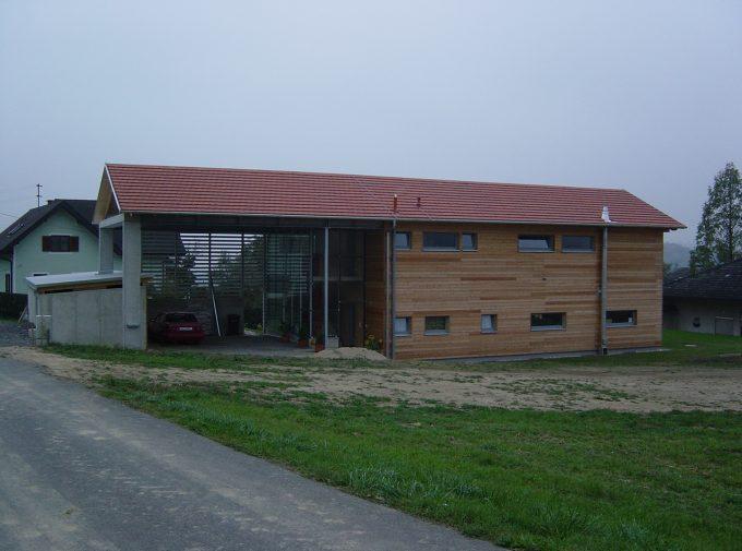 Dach für Garage und Haus