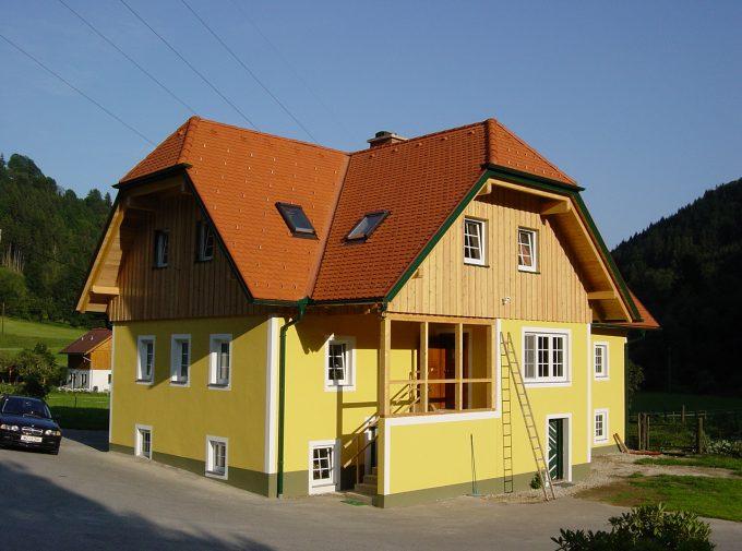 Passendes Dach für Landhaus