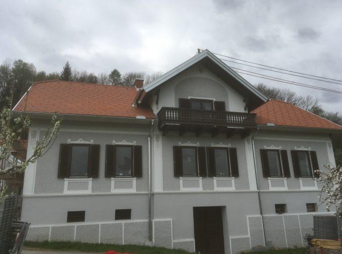 Referenz für Dachdeckerarbeit von Klammler