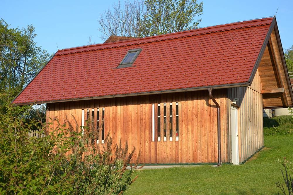 Kaltdach-Häuschen von Klammler