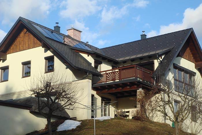 Kaltdachlösung in der Steiermark