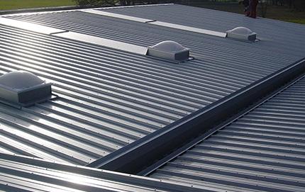 Dach Paneele vom Dachdeckermeister Klammler