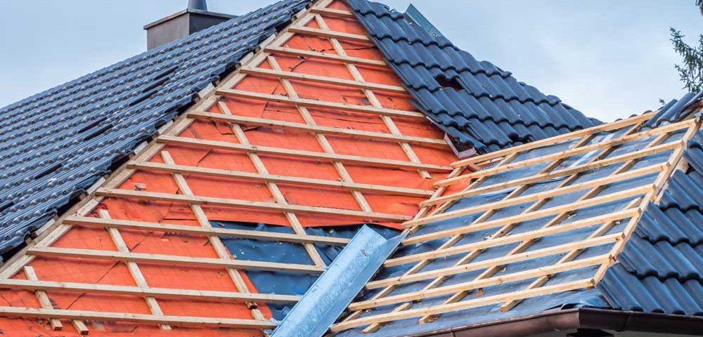 Aufbau eines Kaltdaches